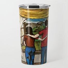An Open Window Travel Mug
