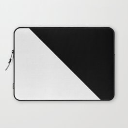 Black and White Design Laptop Sleeve