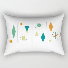 1950s Mid Century Design Rectangular Pillow