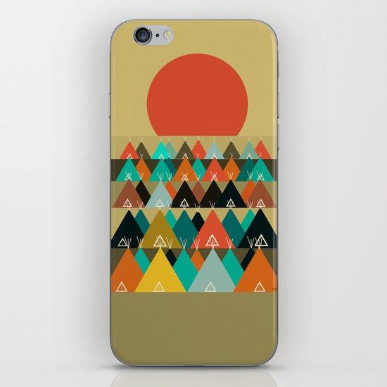 Tipi Moon iPhone & iPod Skin