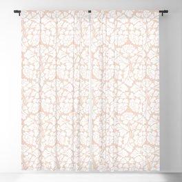 Baroque Pattern - Pink Pastel Blackout Curtain