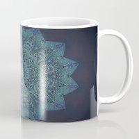 lace Mugs featuring LACE by Monika Strigel