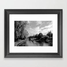 Canals best Framed Art Print