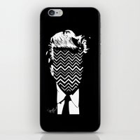lynch iPhone & iPod Skins featuring Lynch. by Spazy Art