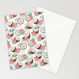 Coconut Pattern Stationery Cards