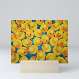 Rubber Duck Meet and Greet Mini Art Print