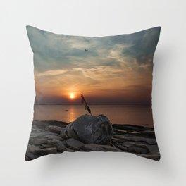 Flatrocks Sunset 2 Throw Pillow