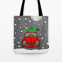 Santa Lane Tote Bag