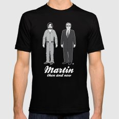 MARTIN'S FAVORITE CAMEOS MEDIUM Black Mens Fitted Tee
