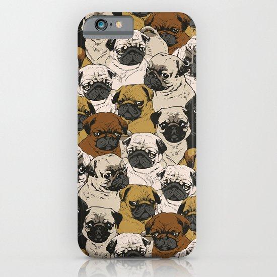 Social Pugz iPhone & iPod Case