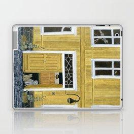 Yellow building Laptop & iPad Skin