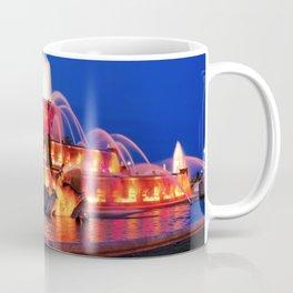 Chicago Buckingham Fountain Lights Coffee Mug