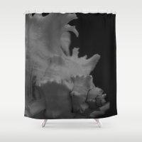 philippines Shower Curtains featuring Muricidae Hexaplex cichoreus by Janice Sullivan