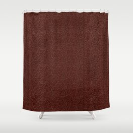 grandma's knitted sweater Shower Curtain