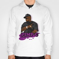chad wys Hoodies featuring Chad 'Pimp C' Butler by Chad Trutt