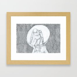 Feeling Depressed Framed Art Print