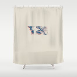 Stares to Nowhere Shower Curtain