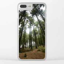 Forest of Bowland Clear iPhone Case
