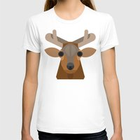 elk T-shirts featuring Elk by A.D.