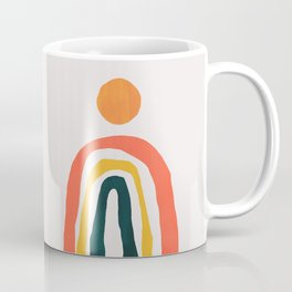 Sunrise over rainbow hill Coffee Mug