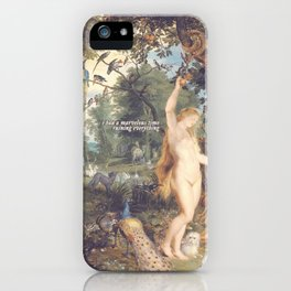 eve had a marvelous time ruining everything iPhone Case