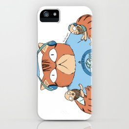 Angus the cat iPhone Case