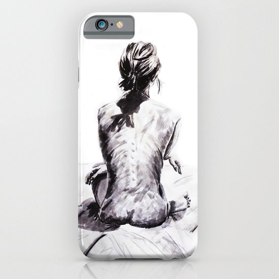 Back and Shadow Study iPhone & iPod Case