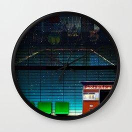 Station Photoautomat Wall Clock
