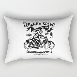 the legend of speed Rectangular Pillow