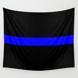 Thin Blue Line Police Flag Wall Tapestry