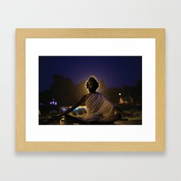 Holy Man Framed Art Print