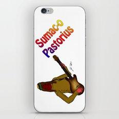 Sumac-o Pastorius iPhone & iPod Skin