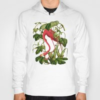 flamingo Hoodies featuring Flamingo by Fifikoussout