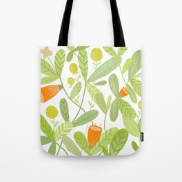 Bright and Green Tote Bag