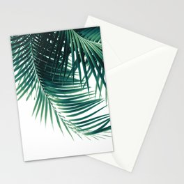 Palm Leaves Green Vibes #4 #tropical #decor #art #society6 Stationery Cards
