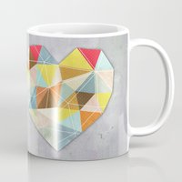 home sweet home Mugs featuring Home Sweet Home by cafelab