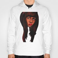 nicki Hoodies featuring Watch the queen conquer by Papa-Paparazzi
