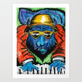 Thelonious Chipmonk Art Print