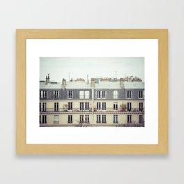 Parisian Framed Art Print