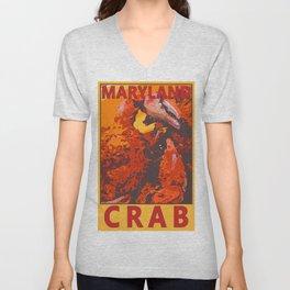Maryland Crabbies Unisex V-Neck