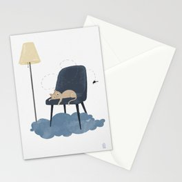 Cat vs. fly - ep. 2 Stationery Cards