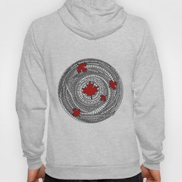 Canadian Maple Red Hoody