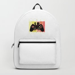 18 Level Complete Mens 18th Birthday Men Gaming Design Backpack