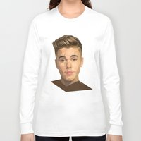 justin timberlake Long Sleeve T-shirts featuring Justin by Maxx Hendriks
