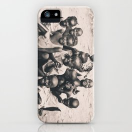 African children. iPhone Case