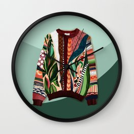 Coogi Sweater Wall Clock
