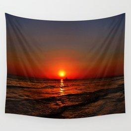 Sonnenuntergang am Meer Wall Tapestry