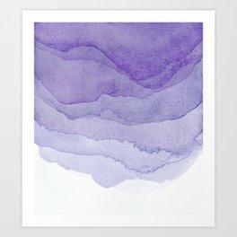 Lavender Flow Art Print