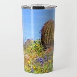 Desert Wildflower Hike 4 Travel Mug