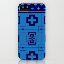 The Directions (Blue) iPhone Case